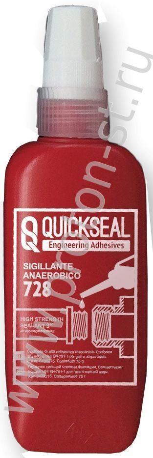 QUICKSPACER 728 - Анаэробный герметик для резьбовых соединений Озёрск Пластинчатый теплообменник Sondex S201 Великий Новгород