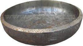 Заглушка стальная эллиптическая ГОСТ 17379-2001 фото