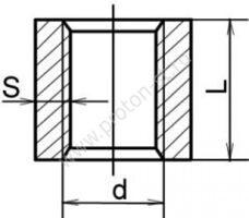 Муфта стальная приварная ГОСТ 8966-75 размеры